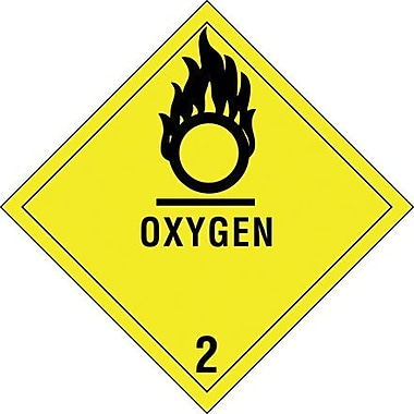 Tape Logic Oxygen - 2in. Tape Logic Shipping Label, 4in. x 4in., 500/Roll
