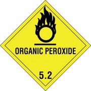"Tape Logic Organic Peroxide - 5.2"" Tape Logic Shipping Label, 4"" x 4"", 500/Roll"