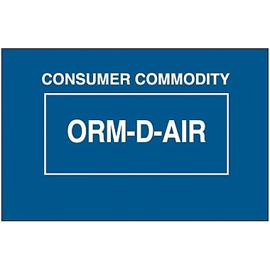 Tape Logic Consumer Commodity ORM-D-AIR Shipping Label, 1 3/8in. x 2 1/4in., 500/Roll