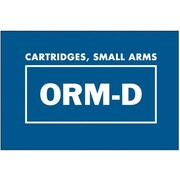 "Tape Logic Cartridges, Small Arms ORM-D Shipping Label, 1 3/8"" x 2 1/4"", 500/Roll"