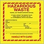 Tape Logic Hazardous Waste - Standard Shipping Label,
