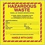 Tape Logic Hazardous Waste - Standard Shipping Label,