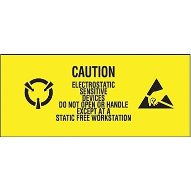 Tape Logic Electrostatic Sensitive Devices Shipping Label, 1in. x 2 1/2in., 500/Roll