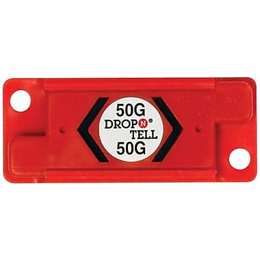 Resettable Drop-N-Tell Indicator, 50G, 25/Case