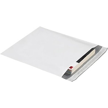 Staples 13in. x 16in. x 2in. Expansion Poly Mailer, 100/Case