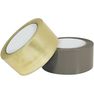 Intertape Industrial Plus Carton Sealing Tape, Clear, 2in. x 1000 yds., 6 Rolls