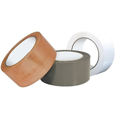 Intertape Industrial Plus PVC Carton Sealing Tape, Tan, 3in. x 110 yds., 24 Rolls