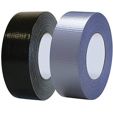 Tape Logic Industrial Cloth Duct Tape, Black, 2in. x 60 Yards, 24 Rolls