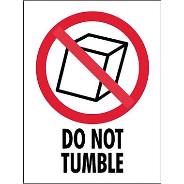 Tape Logic Do Not Tumble Shipping Label, 3in. x 4in.