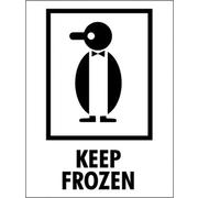 Tape Logic Keep Frozen Shipping Label, 3 x 4, 500/Roll