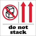 Tape Logic Do Not Stack Tape Logic Shipping Label, 4in. x 4in.