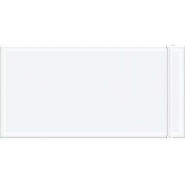 Staples Packing List Envelope, 5in. x 10in. Re-Sealable, Clear, 1000/Case