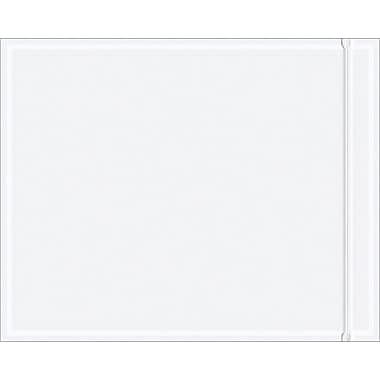 Staples Packing List Envelope, 8in. x 10in. Resealable, Clear