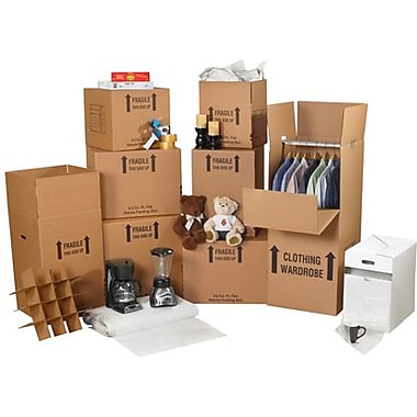 Staples Deluxe Home Moving Kit, 1 Kit