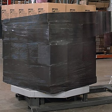 Staples 20in. x 80 Gauge x 5000' Black Blown Machine Stretch Film