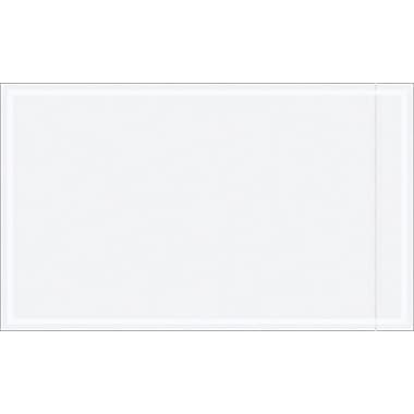 Staples Packing List Envelope, 4 1/2in. x 7 1/2in., Clear, 1000/Case