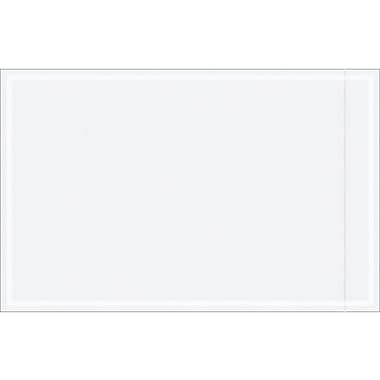 Staples Packing List Envelope, 5 1/8in. x 8in., Clear, 1000/Case