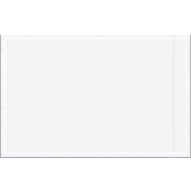 Staples Packing List Envelope, 6 1/2in. x 10in., Clear