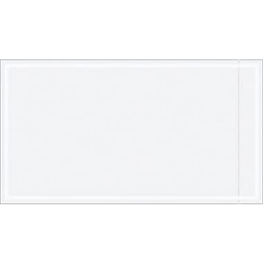 Staples Packing List Envelope, 5 1/2in. x 10in., Clear
