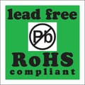 Tape Logic Lead Free RoHs Compliant Shipping Label, 2in. x 2in.