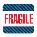 Tape Logic Fragile Tape Logic Shipping Label, 4in. x 4in., 500/Roll