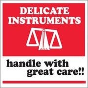 "Tape Logic Delicate Instruments - HWC Tape Logic Shipping Label, 4"" x 4"", 500/Roll"