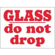 Tape Logic Glass - Do Not Drop Shipping Label, 3in. x 4in., 500/Roll