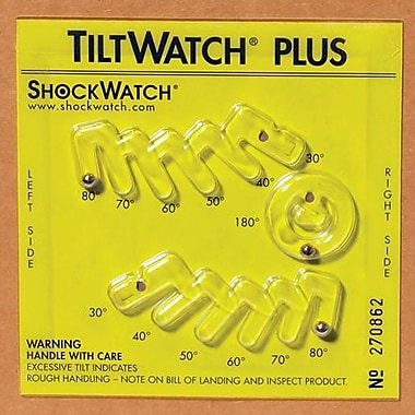 Tiltwatch™ Plus with Label, 50/Case