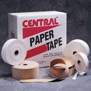 "Central Kraft 160 Medium Paper Tape, 3"" x 600', 10/Case"