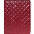Buxton Quilted Padfolio, Red