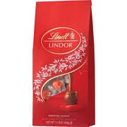 Lindt LINDOR Chocolate Truffles Bag, Milk Chocolate, 13.5 oz.
