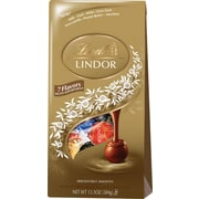 Lindt LINDOR Chocolate Truffles Bag, Assorted, 13.5 oz.