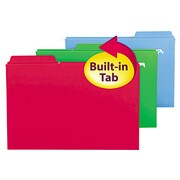 FasTab Hanging Folders, Legal,, Assorted, 20/Box