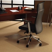 Cleartex® Ultimate Chair Mat with Lip, 47 L x 35 W