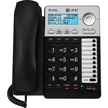 AT&T ML17929 2-Line Corded Speakerphone