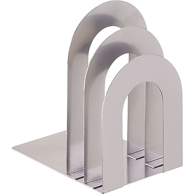 Steelmaster® Soho Collection™ Bookend Organizer, Silver