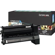 Lexmark XL Cyan Toner Cartridge (C782U1CG), Extra High Yield, Return Program