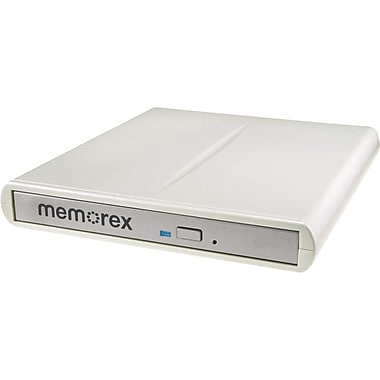 Memorex 8x Slim External CD/DVD Writer