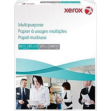 Xerox® - Papier multi-usages, 20 lb, 8 1/2 po x 11 po, rame de 500 feuilles