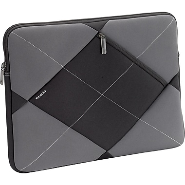 SOLO Studio 16in. Laptop Sleeve, Black/Grey