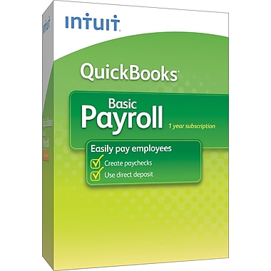 QuickBooks Basic Payroll 2013 for Windows (3-User) [Boxed]Sorry, this item is currently out of stock.
