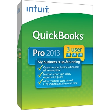 QuickBooks Pro 2013 for Windows (3-User) [Boxed]