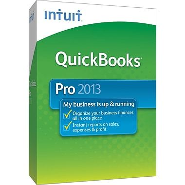 QuickBooks Pro 2013 for Windows/Mac