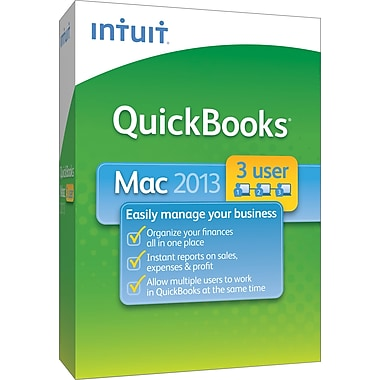 QuickBooks Pro 2013 for Mac (3-User) [Boxed]