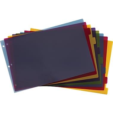 Cardinal® Multicolour Tab Dividers, 8-Tab