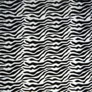 Shamrock Printed Tissue, Zebra