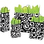 Shamrock Printed Paper Shopping Bag, 5 1/2 x