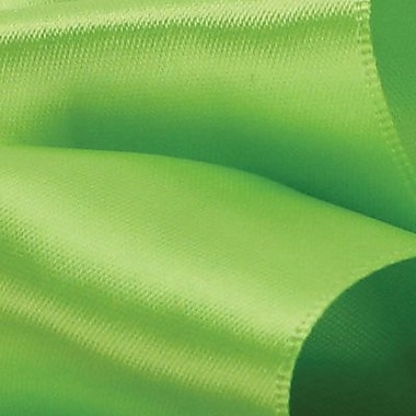 Berwick/Offray Chartreuse Double Face Satin Ribbon 1.5in.