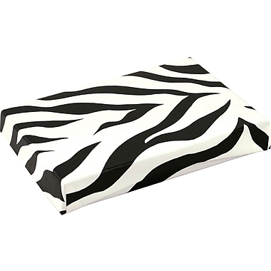 Shamrock Presentation Pop-Up Gift Card Box, Zebra Stripes