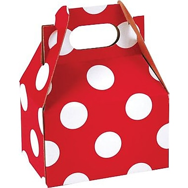 Shamrock Gable Box - 4in., Cheery Dots